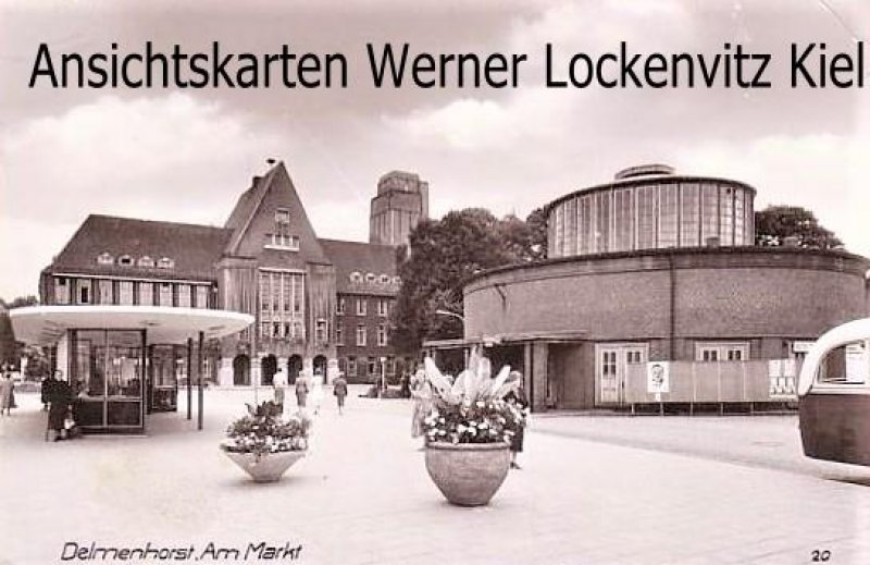 Ansichtskarte Delmenhorst Am Markt