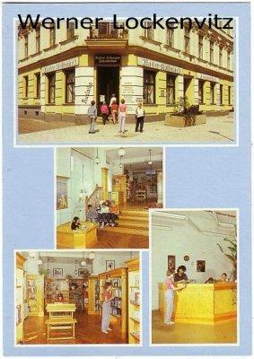 Ansichtskarte Berlin Kinderbibliothek in der Wörther Straße