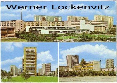 Ansichtskarte Berlin-Lichtenberg mehrfach Hochhäuser