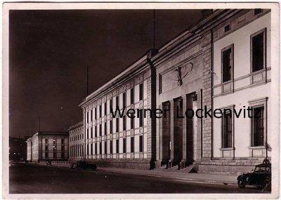 Ansichtskarte Berlin Neue Reichskanzlei bei Nacht