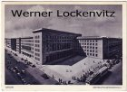 Postcard Germany Berlin Reichsluftfahrtministerium department of aviation with tram