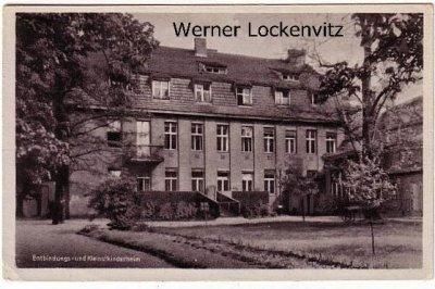 Ansichtskarte Berlin-Weißensee Heim der inneren Mission Adolf-Stöcker-Stiftung Albertinenstr.