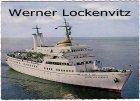 Ansichtskarte Wappen von Hamburg Seebäderschiff  Schiffspoststempel