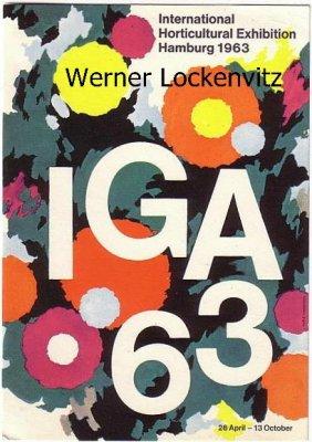Ansichtskarte Hamburg IGA 63 Internationale Gartenbauausstellung