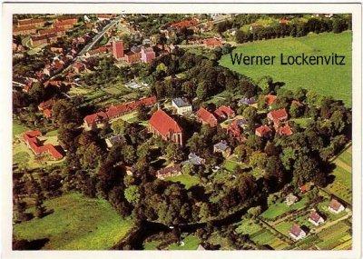 Ansichtskarte Preetz in Holstein Ortsansicht Luftbild