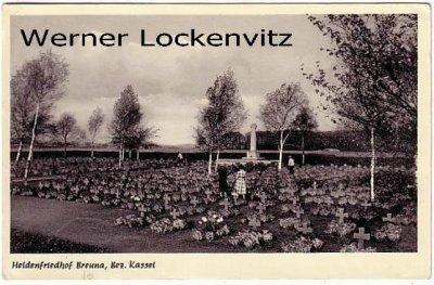 Ansichtskarte Breuna Bez. Kassel Heldenfriedhof