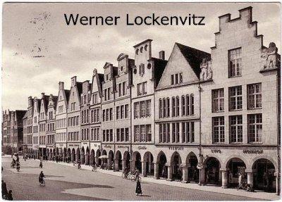 Ansichtskarte Münster Prinzipalmarkt
