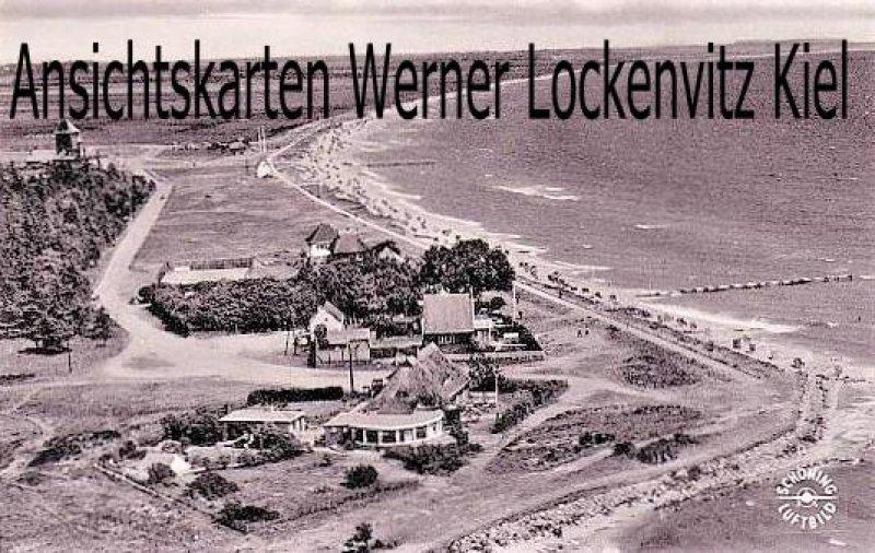 Ansichtskarte Burg auf Fehmarn Strandpartie Luftbild