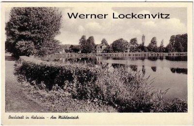 Ansichtskarte Bredstedt in Holstein Am Mühlenteich