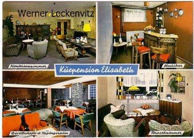 Ansichtskarte Bad Schwartau Kurpension Elisabeth