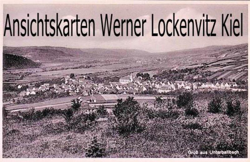 Ansichtskarte Unterbalbach Ortsansicht