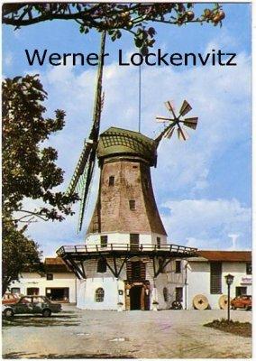Ansichtskarte Westerholz bei Schleswig Hotel-Restaurant Zur Ostsee-Windmühle Mühle
