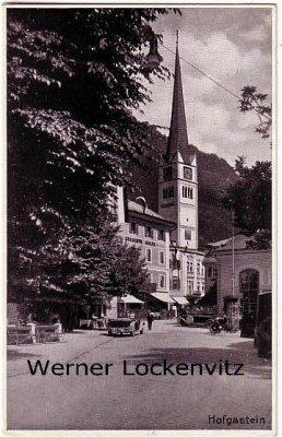 Ansichtskarte Österreich Bad Hofgastein Ortsansicht