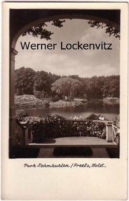 Ansichtskarte Preetz in Holstein Lehmkuhlen Park