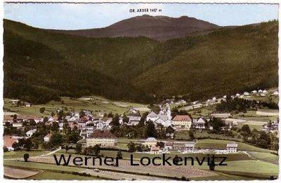 Ansichtskarte Bodenmais Panorama Ortsansicht farbig