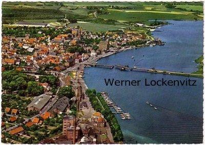 Ansichtskarte Kappeln an der Schlei Panorama Luftbild