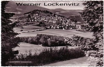 Ansichtskarte Eversberg im Sauerland Ortsansicht Panorama
