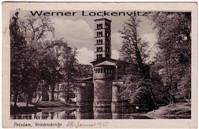 Ansichtskarte Potsdam Friedenskirche