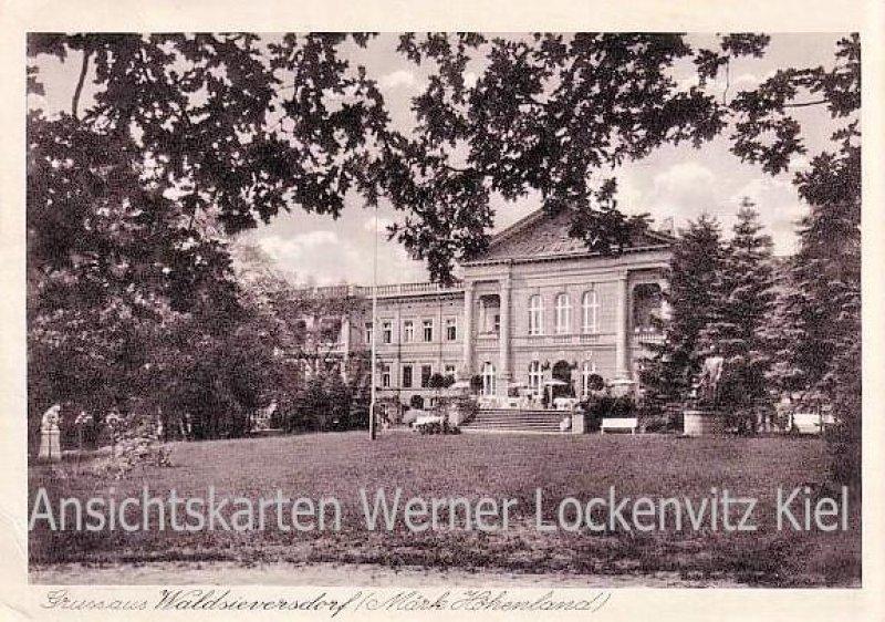 Ansichtskarte Waldsieversdorf Märk. Höhenland wohl Sanatorium