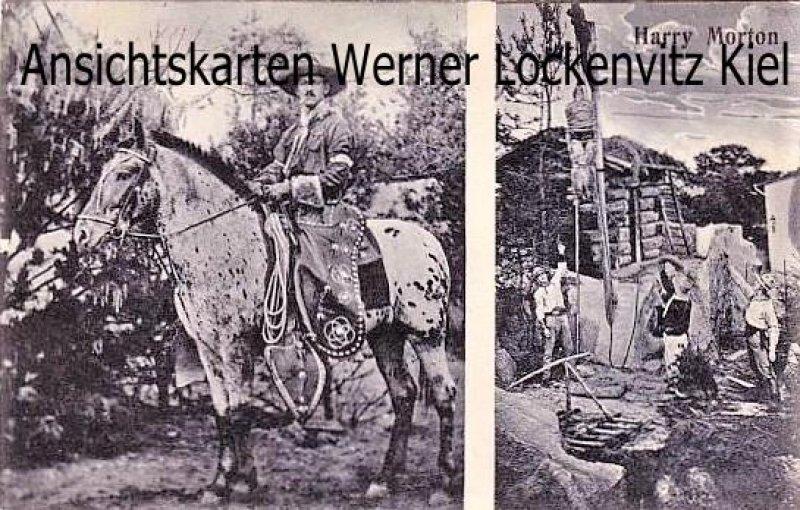 Ansichtskarte Harry Morton Cowboy Darsteller Schauspieler Showreiter