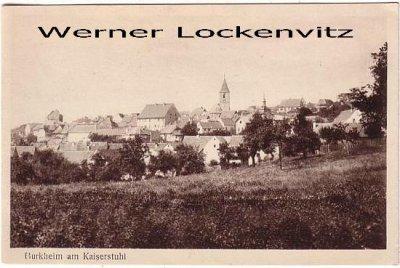 Ansichtskarte Burkheim am Kaiserstuhl Ortsansicht Panorama