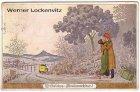 Ansichtskarte Fröhliche Weihnachten Kutsche Student Vignetten