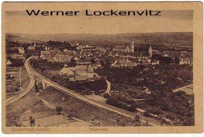Ansichtskarte Tauberbischofsheim Totalansicht