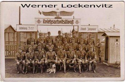 Ansichtskarte Westerland auf Sylt Reichsarbeitsdienst RAD