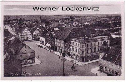 Ansichtskarte Kyritz Adolf-Hitler-Platz
