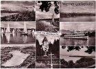 Ansichtskarte Gruß vom Starnberger See mehrfach mit Dampfer Seeshaupt