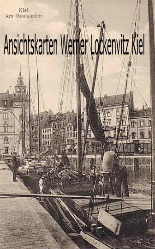 Ansichtskarte Kiel Am Bootshafen mit Fischerbooten