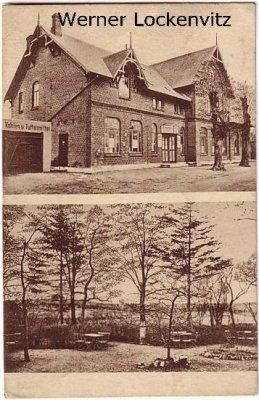 Ansichtskarte Kiel-Poppenbrügge Lindenhain Bes. Otto Riecken