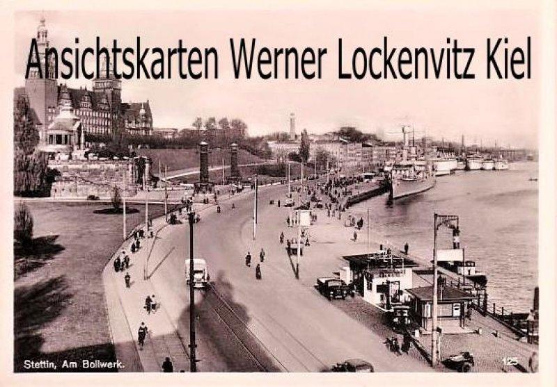 Ansichtskarte Polen Pommern Stettin Szczecin Am Bollwerk