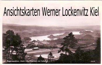Ansichtskarte Vykorten Schweden Sverige Angermanälven Utsikt fran Österasen Adel gerichtet an Gräfin Hedwig von Reventlow