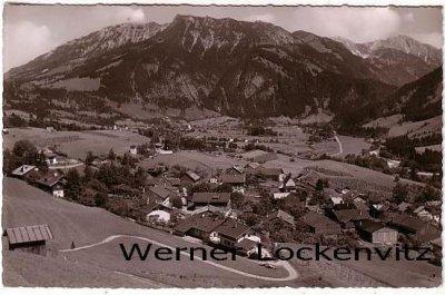 Ansichtskarte Bad Hindelang-Vorderhindelang Panorama
