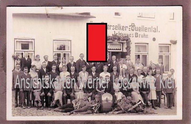Ansichtskarte Selk-Oberselk Quellental RAD Reichsarbeitsdienst Fotokarte