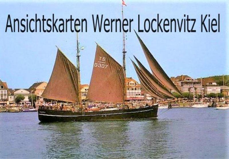Ansichtskarte Lübeck-Travemünde Segelschiff