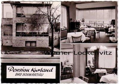 Ansichtskarte Bad Schwartau Pension Kurland