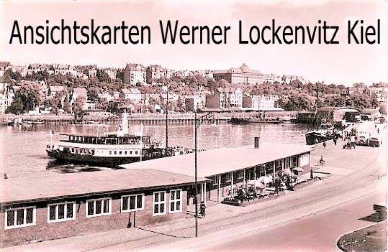 Ansichtskarte Flensburg Am Hafen