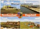 Ansichtskarte Dagebüll mehrfach Kiosk an der Mole Pension Friesenhof