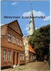 Ansichtskarte Lübeck-Travemünde Alte Häuser in der Jahrmarktstraße