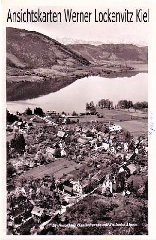 Ansichtskarte Österreich Steindorf am Ossiachersee Panorama Ortsansicht Kärnten