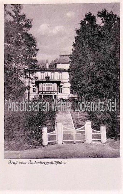 Ansichtskarte Malente-Gremsmühlen Fremdenheim Godenbergschlößchen