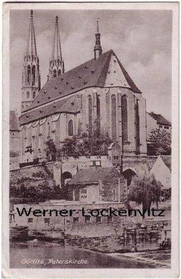 Ansichtskarte Görlitz Peterskirche