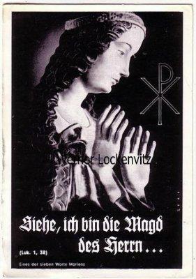 Ansichtskarte Österreich Villach Motive Religion Siehe ich bin die Magd des Herrn...Kärnten