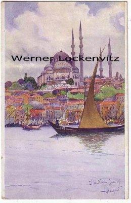 Ansichtskarte Türkei Istanbul Constantinopel Mosquee de Suleiman