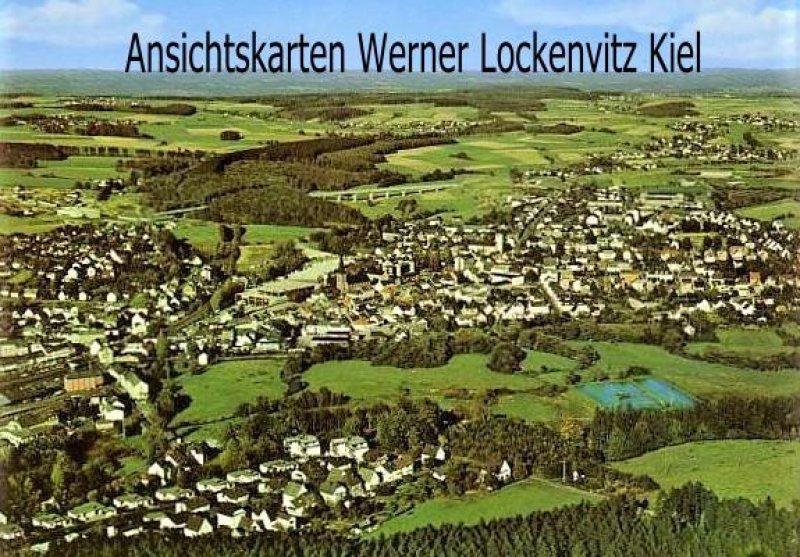 Ansichtskarte Altenkirchen Westerwald Panorama Luftbild