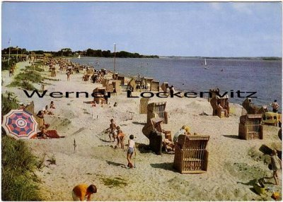 Ansichtskarte Glücksburg Holnis Strand
