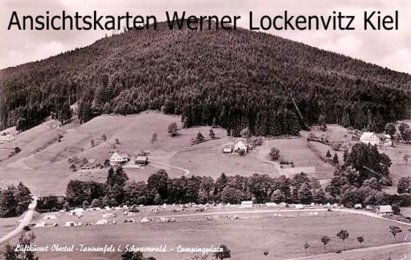 Ansichtskarte Baiersbronn Tannenfels Obertal Campingplatz