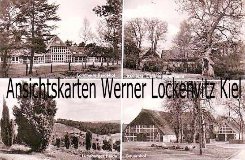 Ansichtskarte Kakenstorf Post Buchholz Nordheide Landheim Heidehof